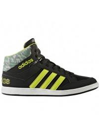 CG5735 Adidas Hoops Mid K (cblack/sesoye/cgreen)