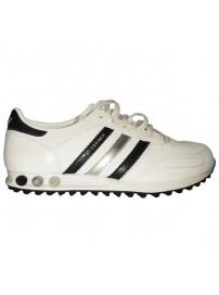 G43196 Adidas LA Trainer (white/black)