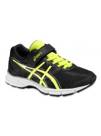 C522N 9007 Asics Pre Galaxy 8 PS (black/flash yellow/white)