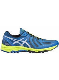 T630N 4993 Asics Gel Fujiattack 5 (thunder blue silver/safety yellow)