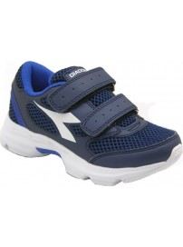 171269 C5901 Diadora Shape 7 V JR (saltire navy/white)