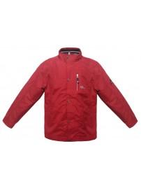 MJK-097 Double Ανδρικό μπουφάν Χρώμα Κόκκινο