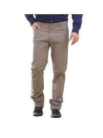 FP-201A Ανδρικό παντελόνι (Μεγάλα μεγέθη) Χρώμα Μπεζ