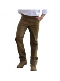FP-201A Ανδρικό παντελόνι (Μεγάλα μεγέθη) Χρώμα Καφέ