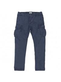 CCP-05A Double Ανδρικό παντελόνι (μεγάλα μεγέθη) Χρώμα Μπλε ραφ