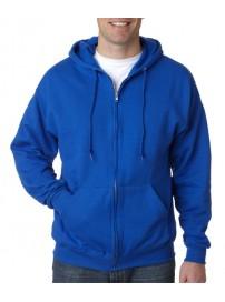 SWZ-280 Keya Hooded sweatshirt with full zip Χρώμα Μπλε ρουά