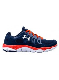 1245160 408 Under Armour BGS Micro G ENGAGE Trainers (ady/vol/wht)