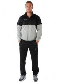 329343 070 Nike Ανδρική Αθλητική Φόρμα Γυαλιστερή Χρώμα Γκρι/Μαύρο