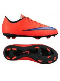 651634 650 Nike Mercurial Victory V FG JR (bright crimson/prsn violet/blk)