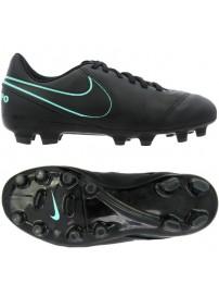 819186 004 Nike JR Tiempo Legend VI FG (black/black/hyper turq)