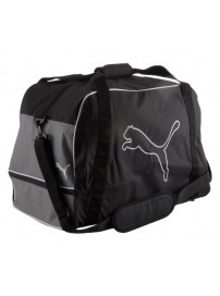 065608 03 Puma United Football bag (black/steel gray/white)