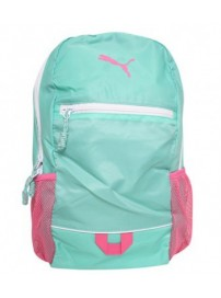 071177 01 Puma DJ Backpack (spearmint/azaiea pink)
