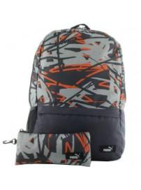 074466 04 Puma BTS Backpack Set (periscope/quarry/shocking or)