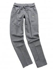 552550 01 Puma FL Knitted PA Γυναικείο αθλητικό παντελόνι Χρώμα Γκρι