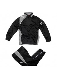 652640 03 Puma United Training Suit (black steel gray/white)