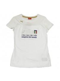 735257 01 Puma T/S Italia Women (white)