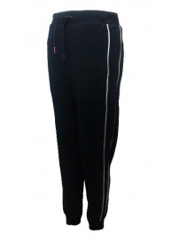 558308 01 PUMA Γυναικείο παντελόνι CUFFED PANTS Χρώμα Μαύρο