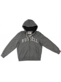 A1-725-2-095 Russell Athletic Zip through hooded sweat