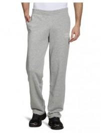 61738C 0088 Umbro Open Hem Training Pants Gray Παντελόνι Φούτερ