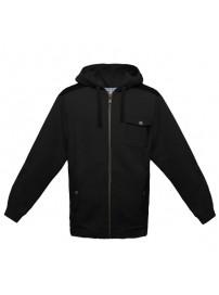 60352U 060 Umbro HB Overlay Zip Through Hodie (black)