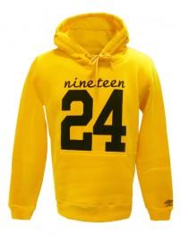66501 0051 Umbro ανδρική μπλούζα φούτερ με κουκούλα Χρώμα Κίτρινο