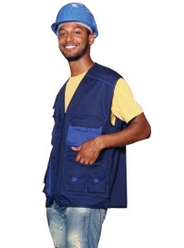 526 Fageo Vest Navy/Royal