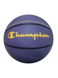 Champion Μπάλα Μπάσκετ Χρώμα Μωβ/Κίτρινο