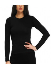 KT01W Kota Thermal Underwear Γυναικεία ισοθερμική μπλούζα Χρώμα Μαύρο