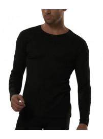 KT01M Kota Thermal Underwear Ανδρική ισοθερμική μπλούζα Χρώμα Μαύρο