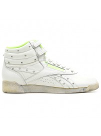 V61037 Reebok F/5 HI (chalk/neon green/black)