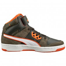 359061 01 Puma Rebound Street W Camo JR (olive/night/white/orange)