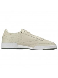 BD5406 Adidas Club C 85 Metals (paperwhite/gunmetal/white)