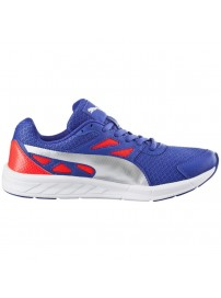 189062 01 Puma Driver Wns (royal blue/silver/red blast)