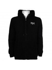 EVR10076 01 Everlast BM Small Logo Hooded Zip Sweater (black)