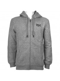 EVR10076 02 Everlast GM Small Logo Hooded Zip Sweater (grey)