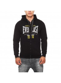EVR9322 01 Everlast BM 1910 Big Logo Hooded Zip Sweater (black)
