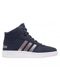B75741 Adidas Hoops Mid 2.0 K (legink/vagrme/trablu)