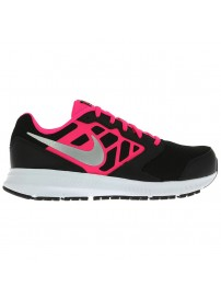 685167 001 Nike Downshifter 6 GS/PS (black/pink/white)