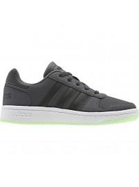EE6719 Adidas Hoops 2.0 K (grey six/core black/glow green)