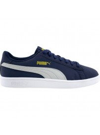 365160 26 Puma Smash V2 Buck (peacoat/high rise/gold/white)