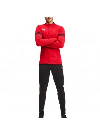 656471 01 Puma FtblPlay Tracksuit (red/black)