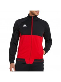 BQ2596 Adidas Tiro17 Training Jacket (red/black)