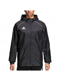 CE9048 Adidas Core 18 Rain Jacket (black)