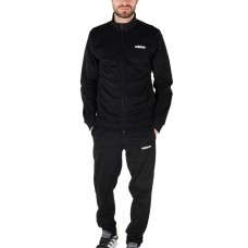 FM0616 Adidas Linear Tricot Training Tracksuit (black)