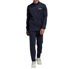 FM0617 Adidas Linear Tricot Training Tracksuit (navy blue)