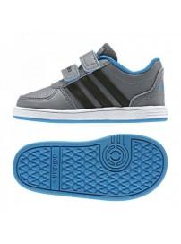 F76572 Adidas Hoops VS CMF INF (grey/cblack/sol blu)