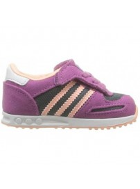 D67901 Adidas LA Trainer CF I (lead/glocor/runwht)
