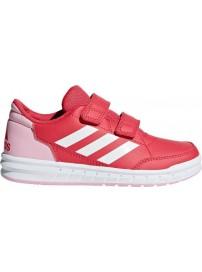 D96824 Adidas AltaSport CF K (apink/cwhite/true pink)