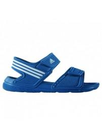 S74649 Adidas Akwah 9 K (blue/white)