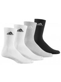 Z25538 Adidas Adicrew HC 3+1 P Χρώματα Άσπρο/Γκρι/Μαύρο